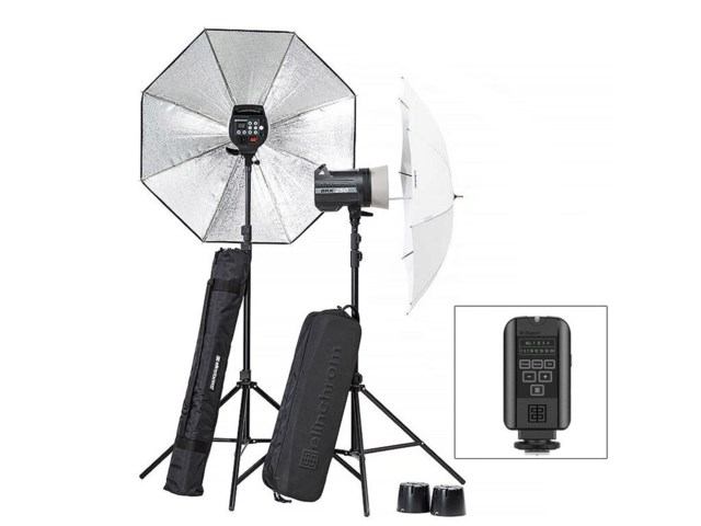 Elinchrom Blixtpaket BRX 250/250 Umbrella To Go