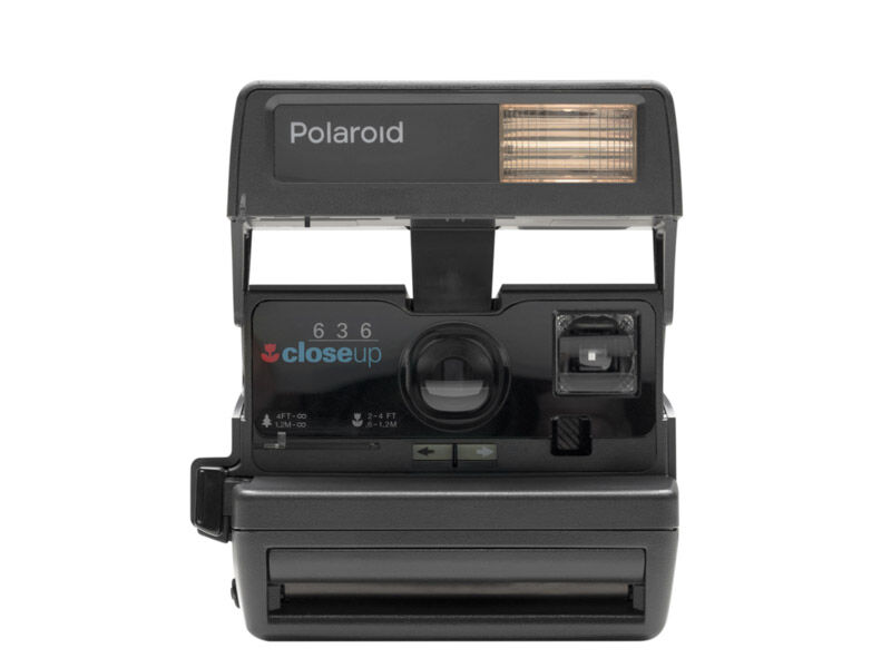 "Impossible Refurbished Polaroid 600 80's style ""Square"""