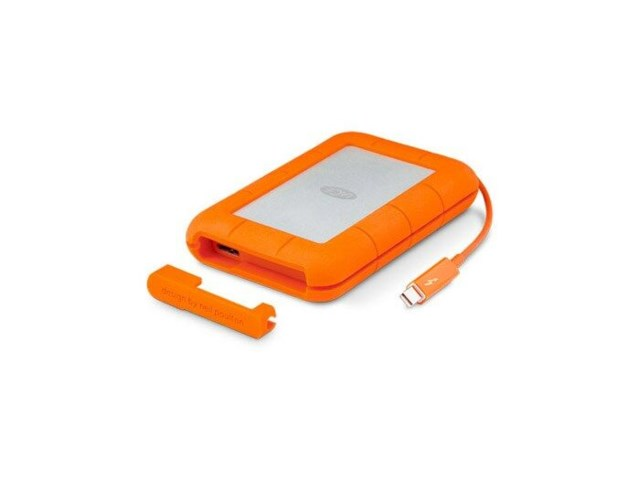 "LaCie Rugged Thunderbolt 2TB portabel 2.5"" USB 3.0"