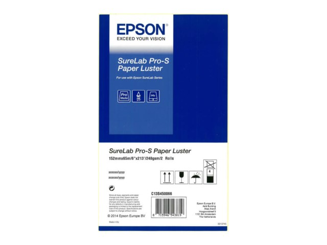 Epson Fotopapper rulle SureLab Pro-S Paper Luster