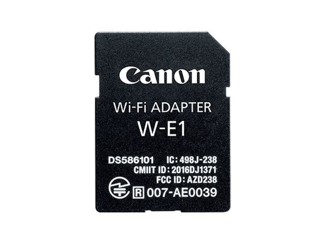 Canon WiFi-adapter W-E1