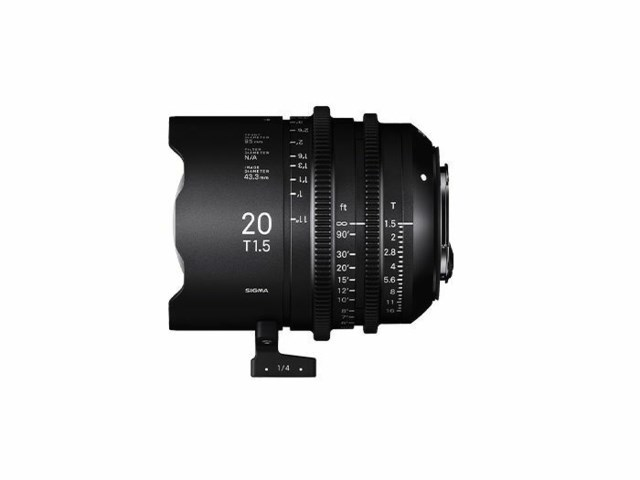 Sigma CINE 20mm T1.5 FF EF-mount