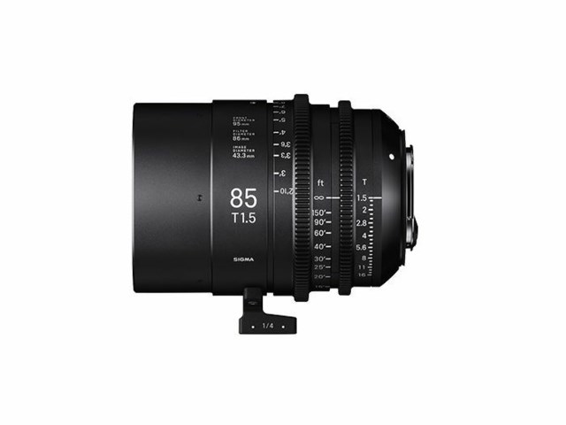 Sigma CINE 85mm T1.5 FF EF-mount