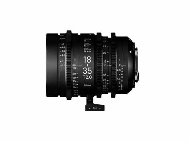 Sigma CINE 18-35mm T2 PL-mount