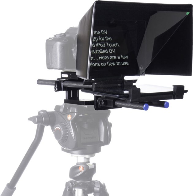 DataVideo TP-500 DSLR teleprompter till iPad/Android