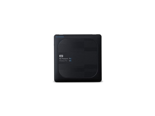 Western Digital My Passport Wireless Pro 2TB USB 3.0 och WiFi