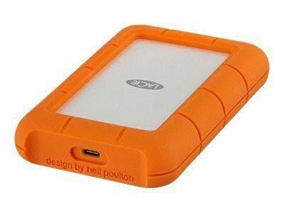 LaCie Rugged Mobile Drive 4TB USB-C 3.1 orange