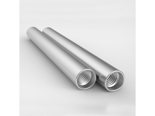 8Sinn Rod 15 mm aluminium silver 10 cm 2-pack