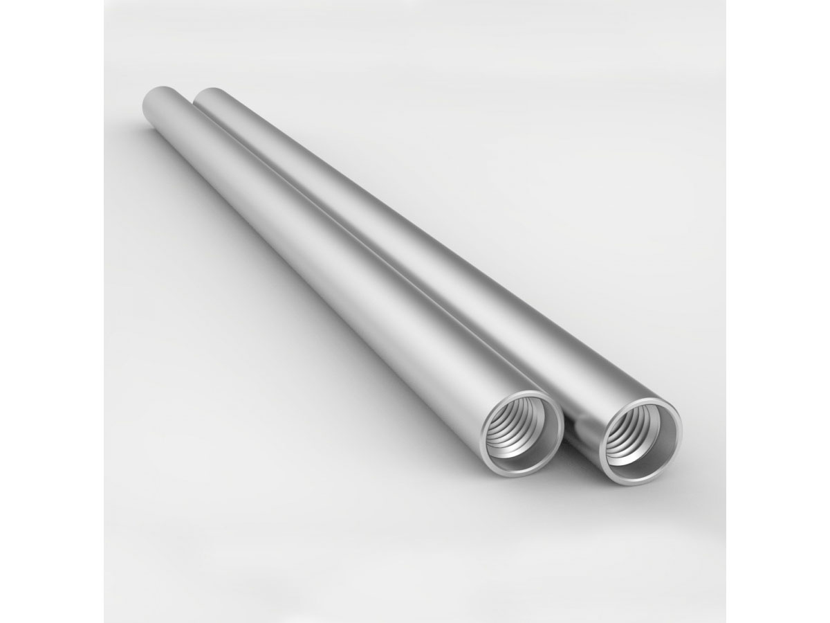 8Sinn Rod 15 mm aluminium silver 30 cm 2-pack