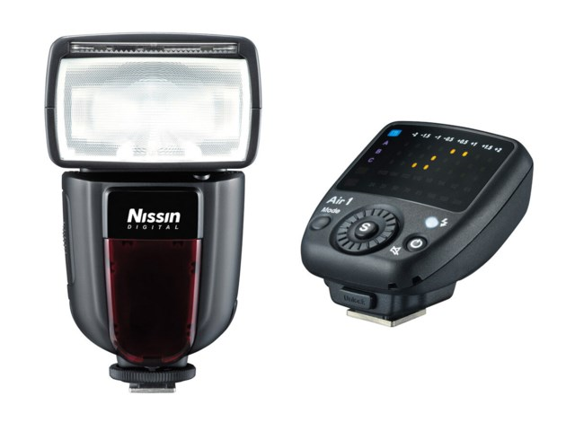 Nissin Blixt Di700A + Commander Air 1 till till Fuji