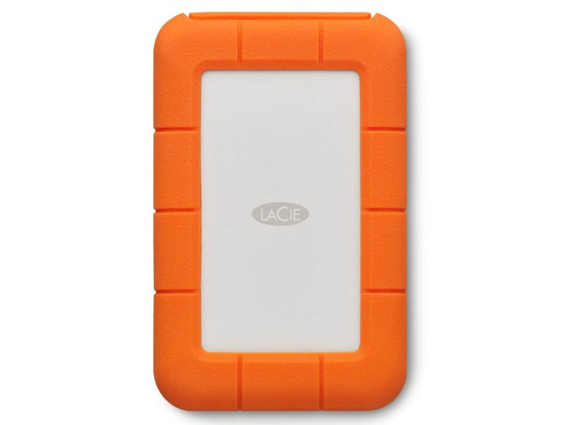 "LaCie Rugged Thunderbolt 2TB portabel 2.5"" USB-C 3.1"