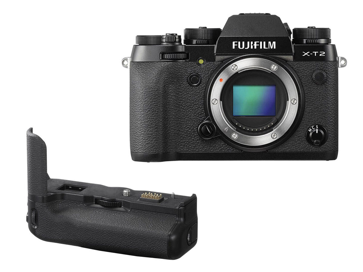 Fujifilm X-T2 kamerahus + Vertical Power Booster Grip