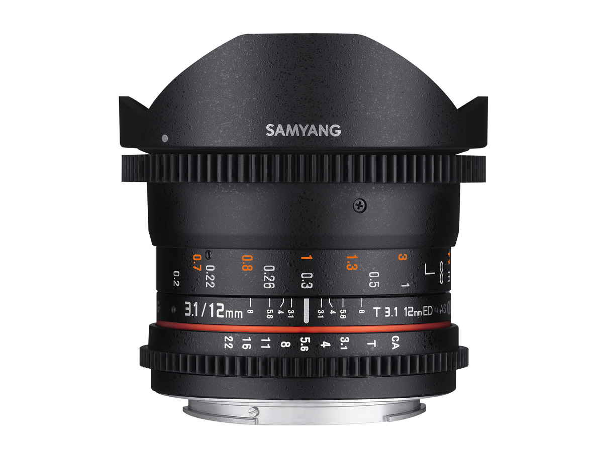 Samyang 12mm T3.1 VDSLR ED AS NCS Fisheye till Sony A