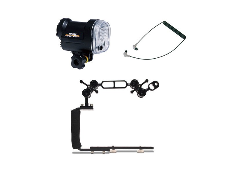 Sea & sea YS-01 Undervattensblixt UN Arm Handle Compact-kit