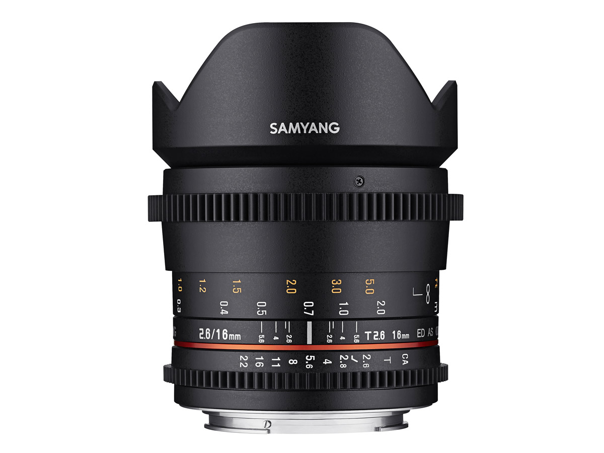 Samyang VDSLR 16mm T2.6 ED AS UMC till Sony A