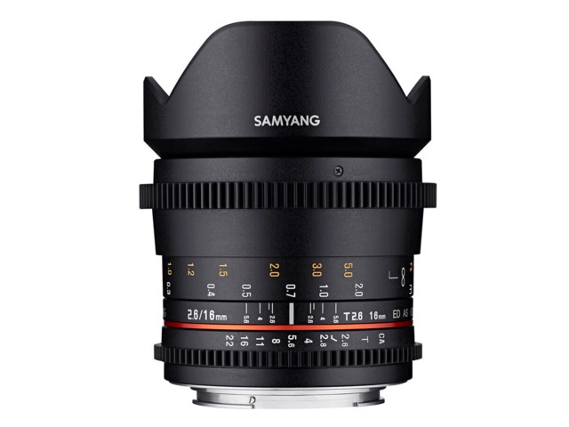 Samyang VDSLR 16mm T2.6 ED AS UMC till Sony FE
