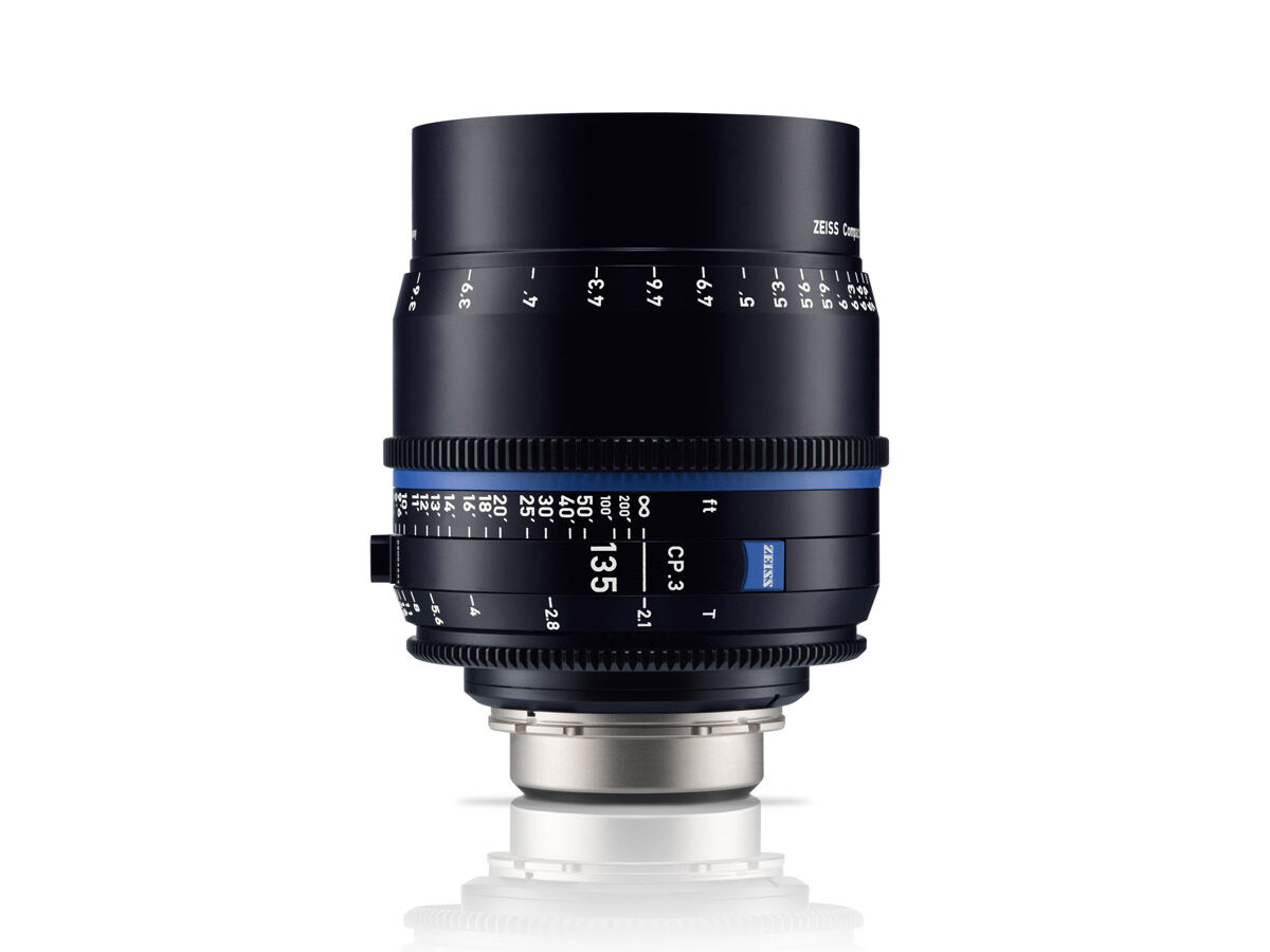 Zeiss Compact Prime CP.3 135mm T2.1 Micro 4/3-mount