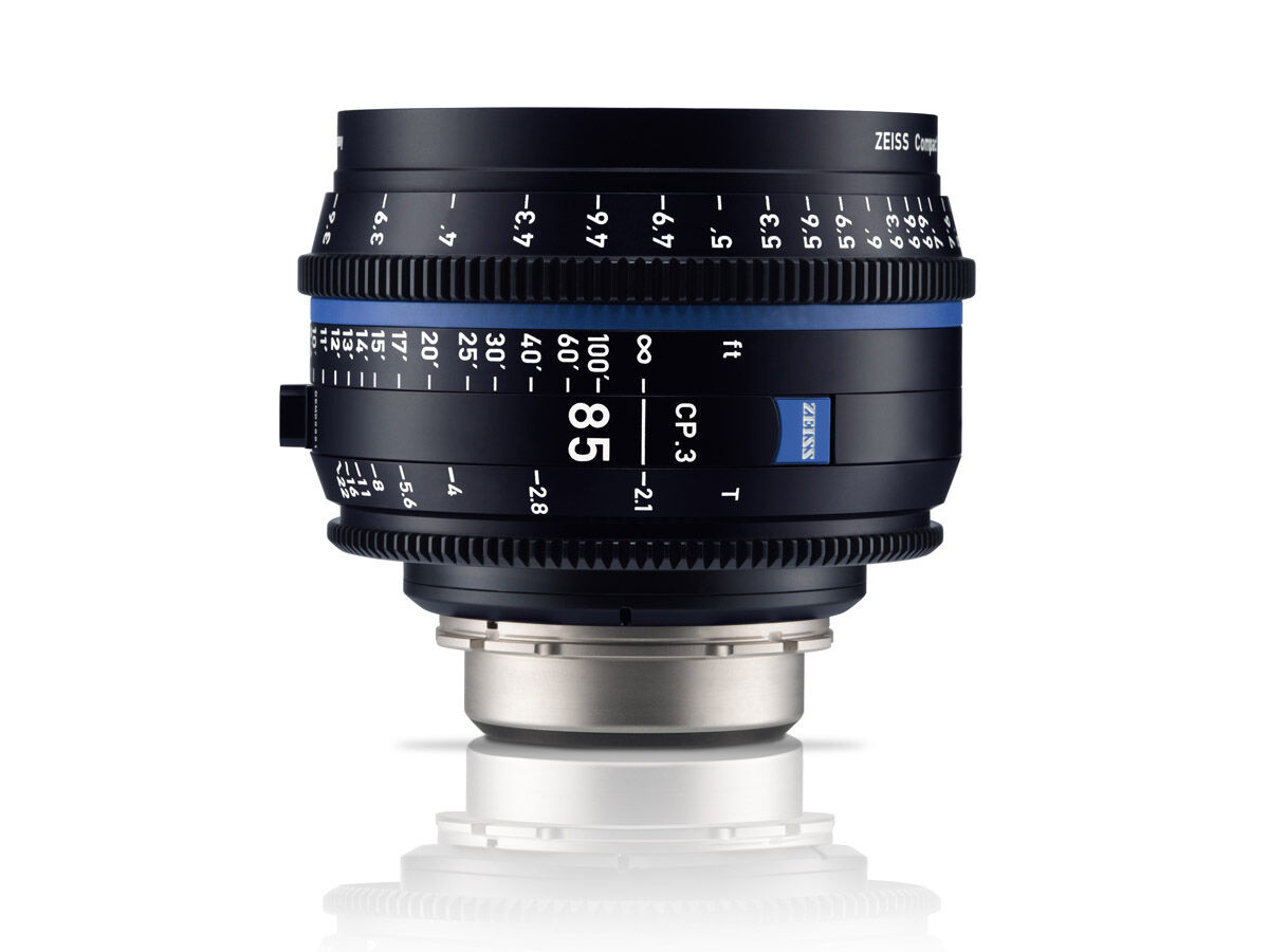 Zeiss Compact Prime CP.3 85mm T2.1 Micro 4/3-mount