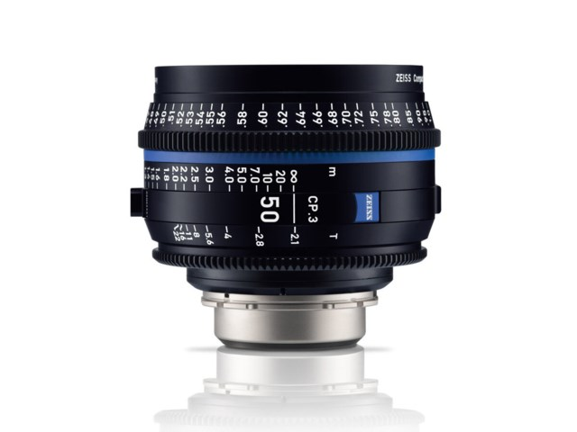 Zeiss Compact Prime CP.3 50mm T2.1 PL-mount