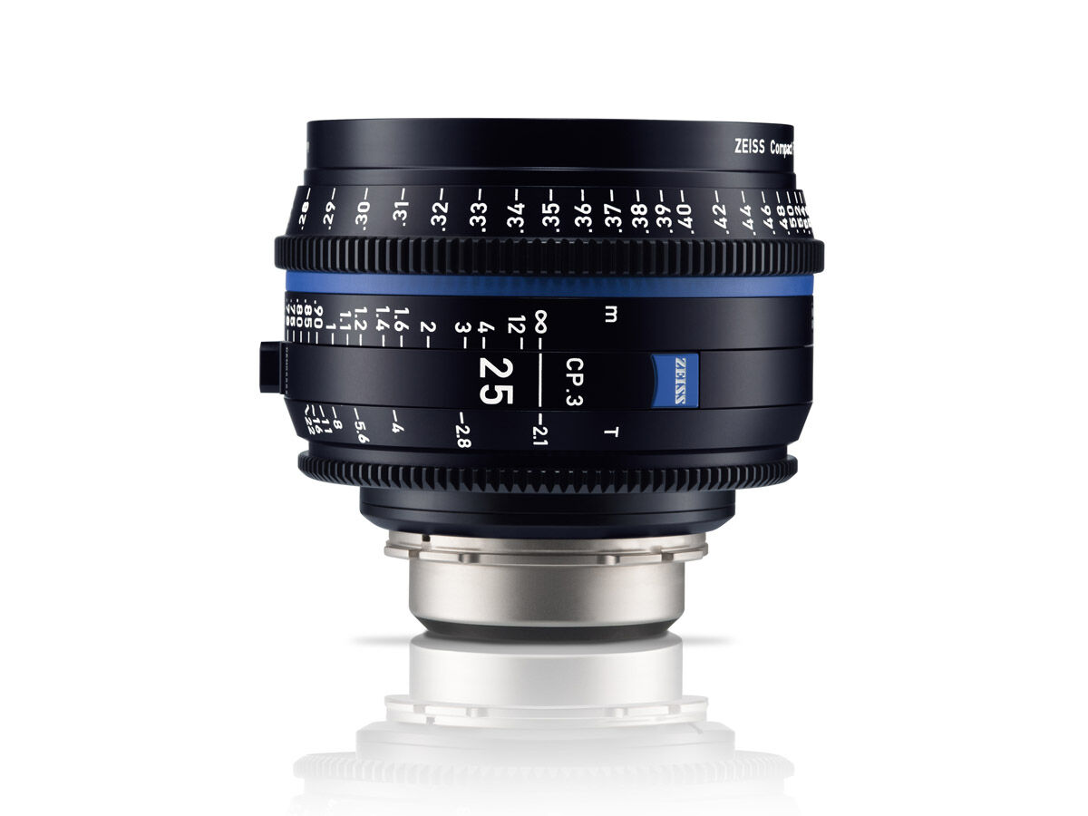 Zeiss Compact Prime CP.3 25mm T2.1 Sony E-mount