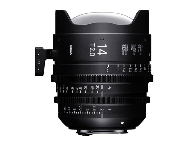 Sigma CINE 14mm T2 FF PL-mount
