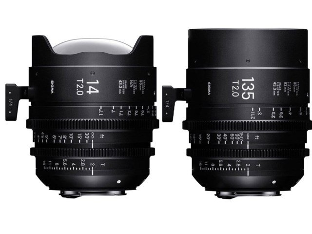 Sigma CINE Two Prime Lenses kit EF-mount