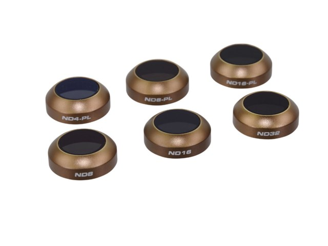 Polar Pro Cinema Series Collection ND filter 6-pack (ND4-PL/