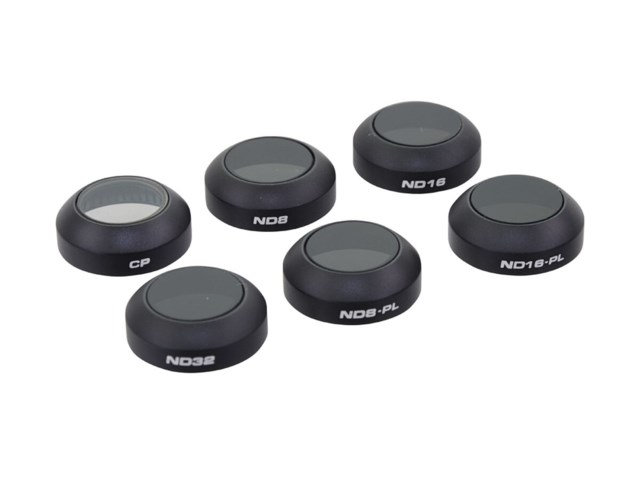 Polar Pro Filter 6-pack (PL/ND8/ND16/ND32/ND8-PL/
