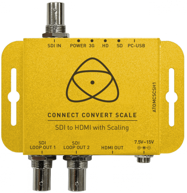 Atomos Connect Convert Scale - SDI till HDMI