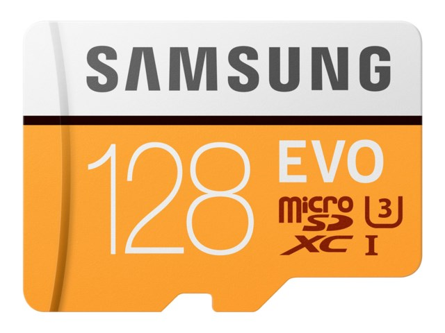 Samsung Minneskort Secure Digital Micro 128GB SDXC EVO