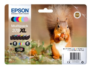 Epson Bläckpatron 378 XL Claria Photo HD multipack