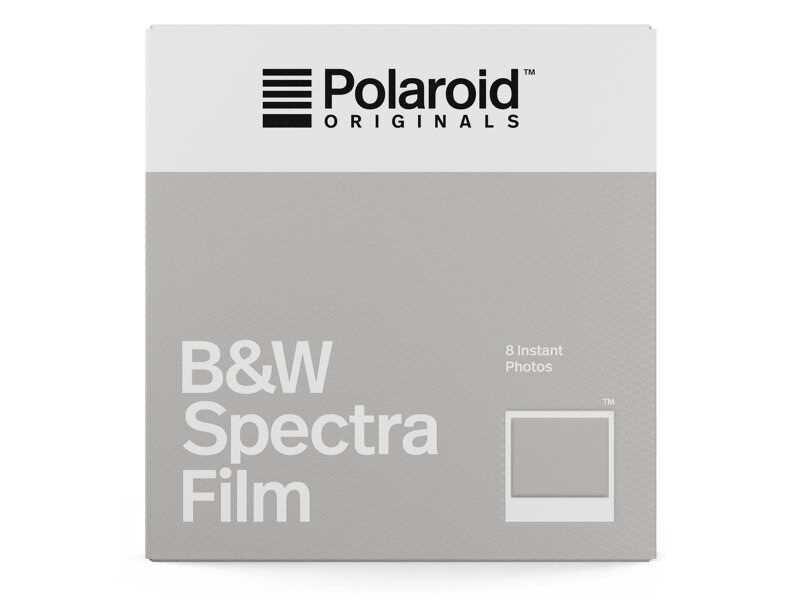 Polaroid Originals Film B&W Spectra (svartvit)