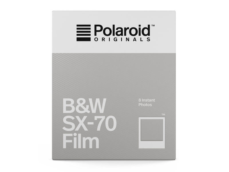 Polaroid Originals Film B&W SX-70 (svartvit)