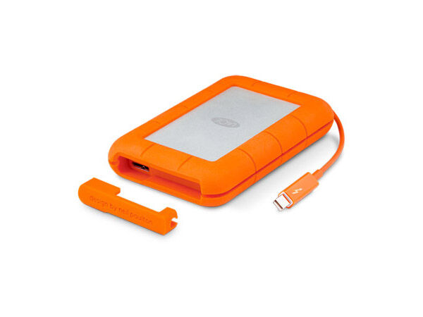 LaCie Rugged Thunderbolt 500GB portabel SSD USB-C 3.1