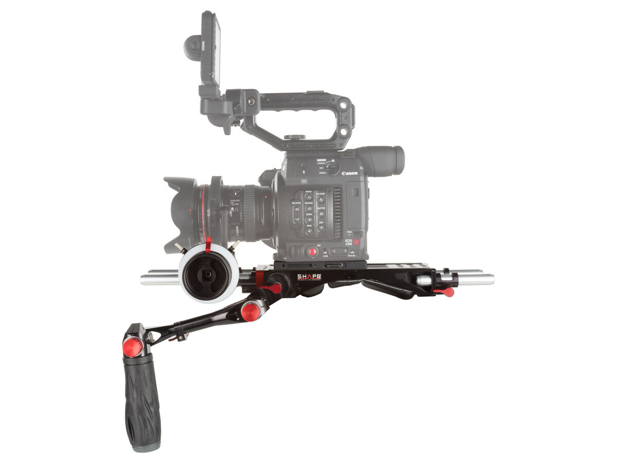 Shape Bundle rig follow focus pro till Canon C200