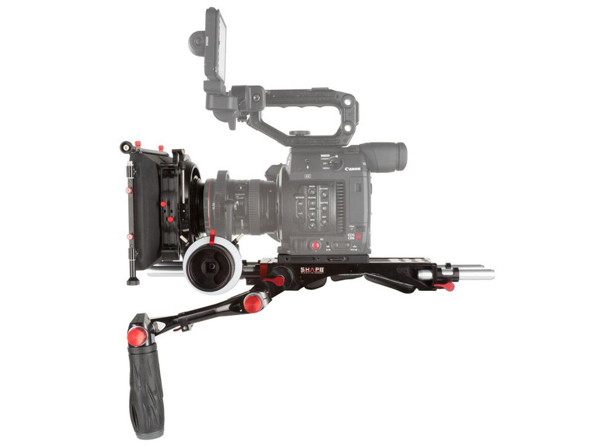 Shape Baseplate follow focus matte box kit till Canon