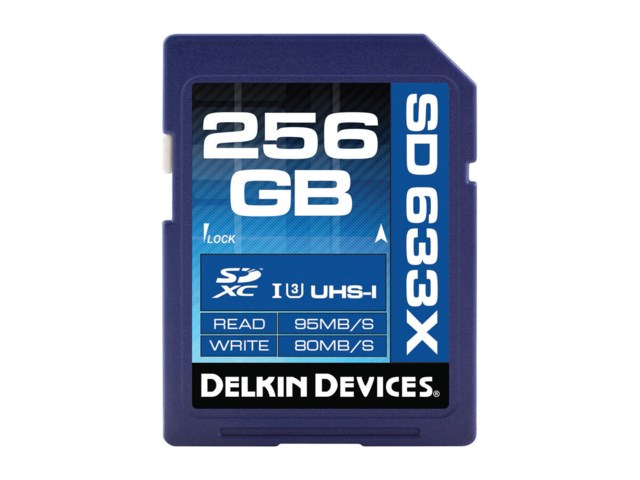 Delkin Devices Minneskort Secure Digital 256GB SDXC 95MB/s