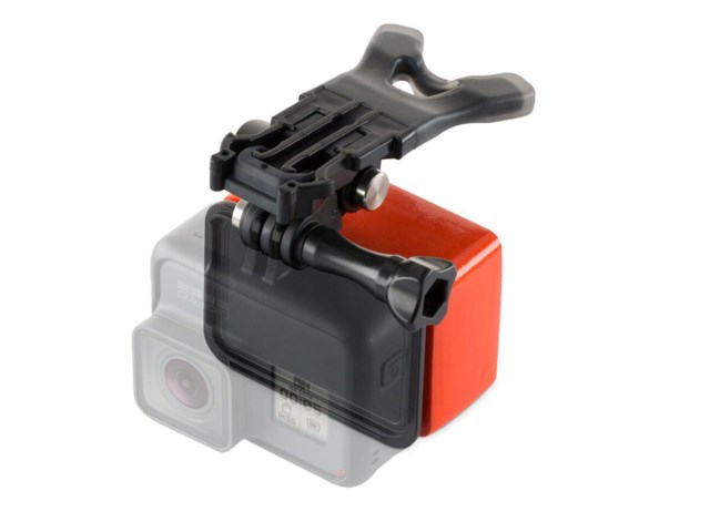GoPro Bite mount + floaty till Hero 6/5/4 Black/Silver