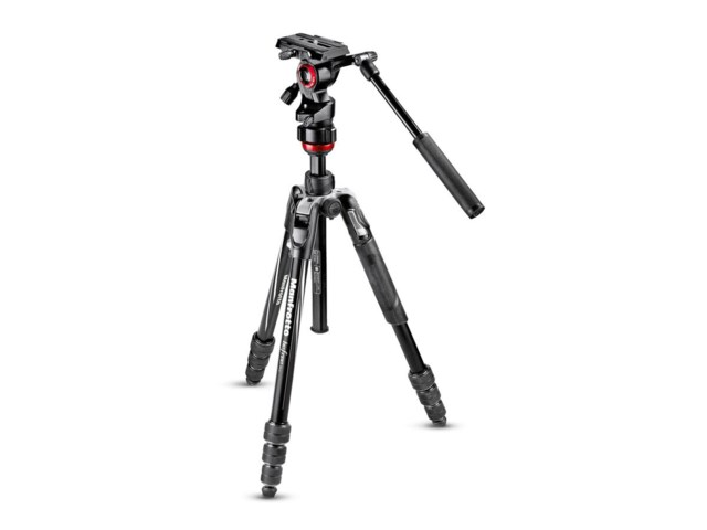 Manfrotto Videostativkit Befree Advanced Live Twist svart