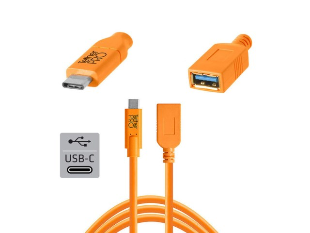 Tether Tools TetherPro kabel USB-C till USB adapter