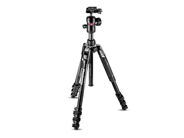 Manfrotto Stativkit Befree Advanced Flipp svart aluminium