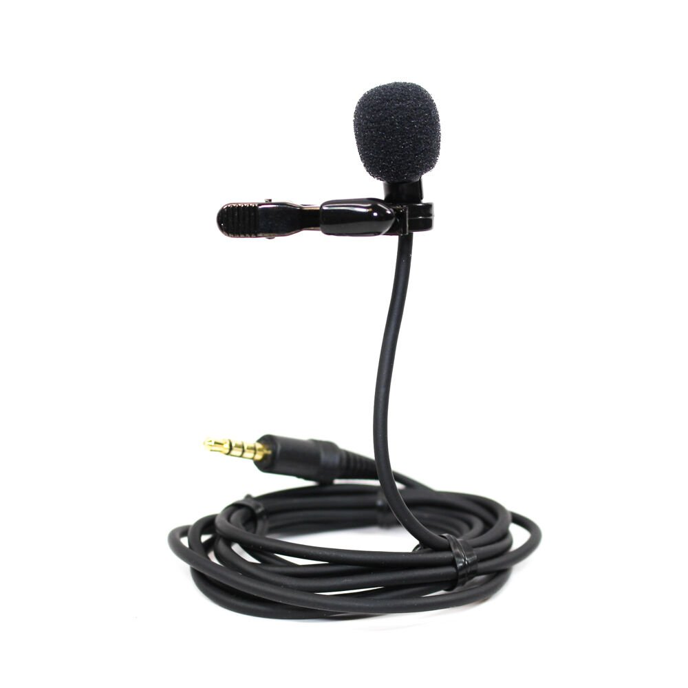 Azden Wired lapel microphone EX-507XD