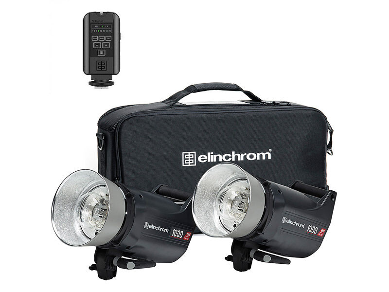Elinchrom Blixtpaket ELC Pro HD 1000/1000 To Go Set New