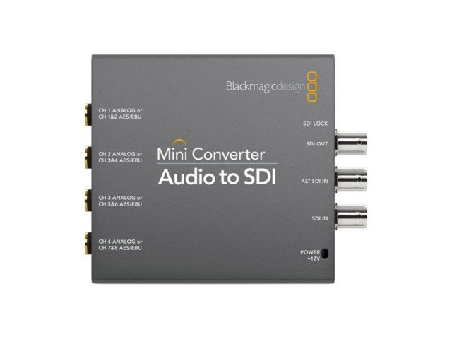 Blackmagic Design Mini converter - Audio till SDI 2