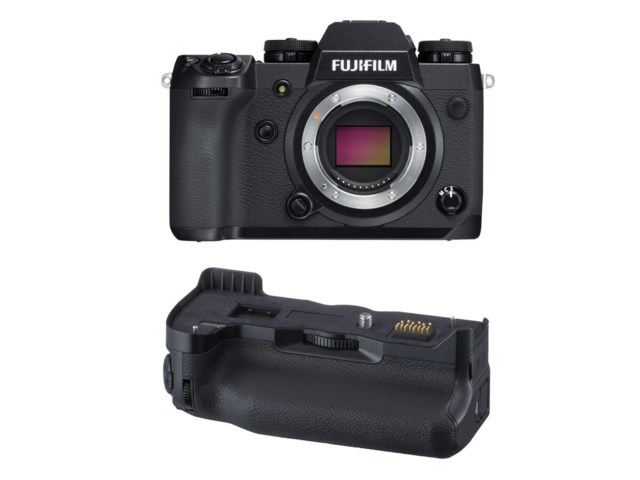 Fujifilm X-H1 kamerahus + Vertical Power Booster Grip