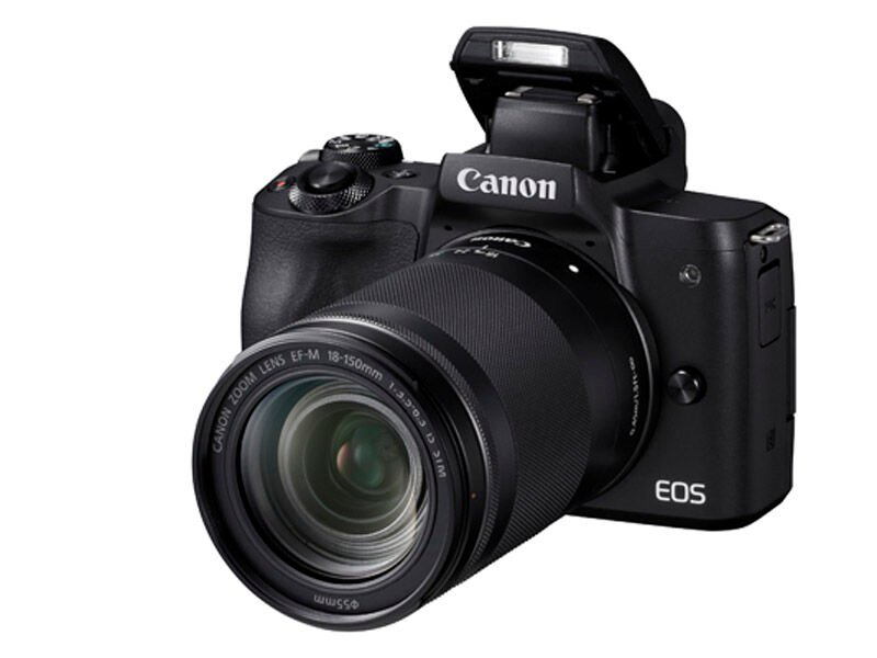 Canon EOS M50 svart + EF-M 18-150mm f/3,5-6,3 IS STM