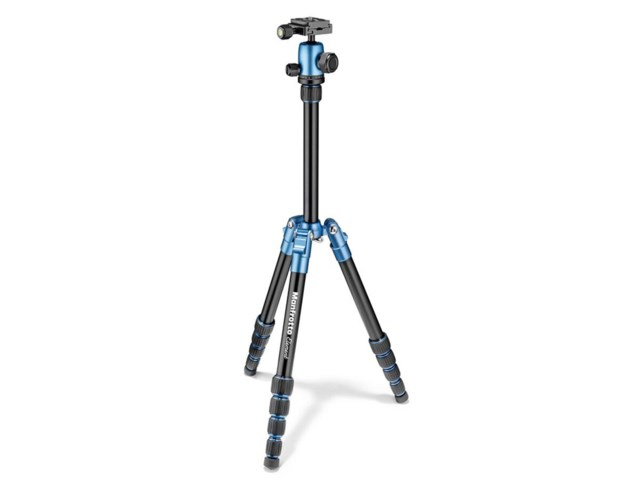 Manfrotto Stativkit Element Liten aluminium blå