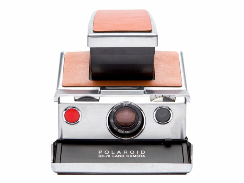 Polaroid Originals SX-70 Camera silver/brun