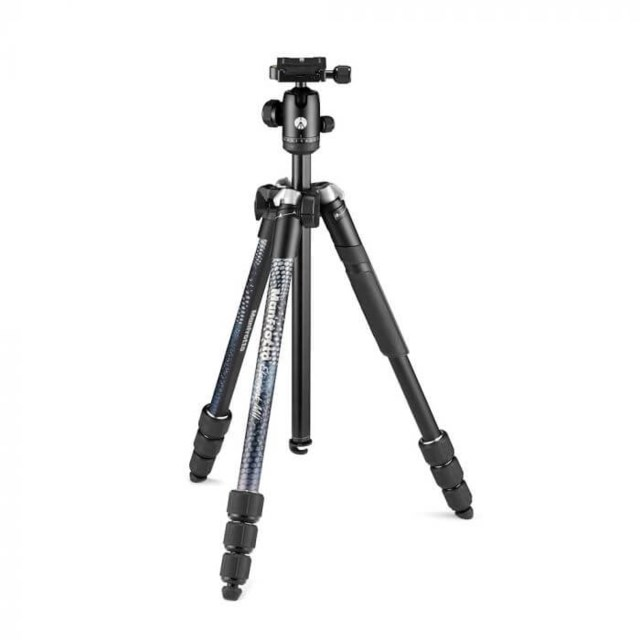 Manfrotto Stativkit Element MKII, Alu, svart