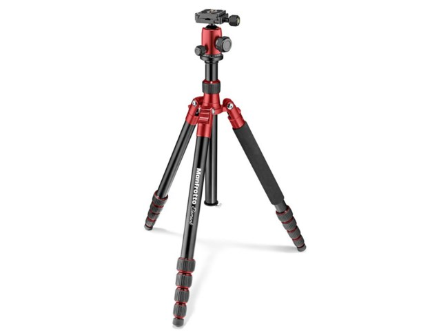 Manfrotto Stativkit Element Stor aluminium röd